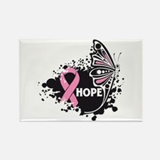 Hope Breast Cancer Rectangle Magnet (10 pack)