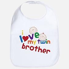 Love My Twin Bib