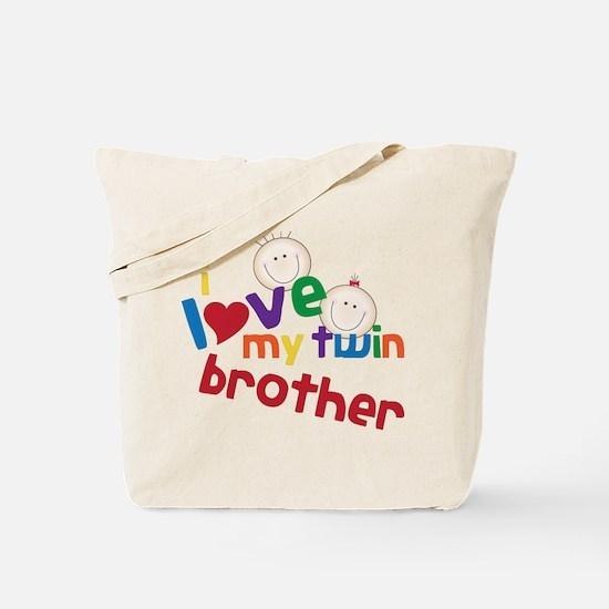 Love My Twin Tote Bag