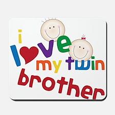Love My Twin Mousepad