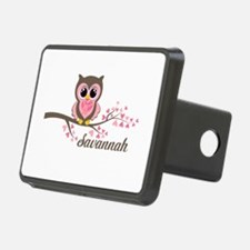Custom Valentines Day owl Hitch Cover