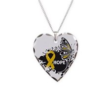 Hope Appendix Cancer Necklace