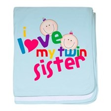 Twin Sister baby blanket