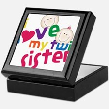 Twin Sister Keepsake Box