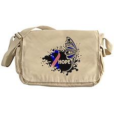 Hope Male Breast Cancer Messenger Bag