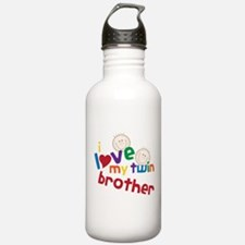 Twin Brother Water Bottle