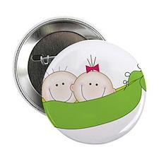 """Peas In A Pod 2.25"""" Button"""