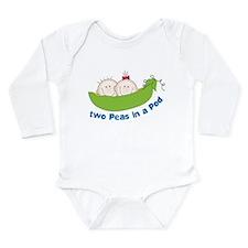 Two Peas Long Sleeve Infant Bodysuit