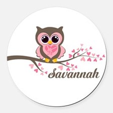 Kids Car Magnets Personalized Kids Magnetic Signs For Cars - Custom car magnets round