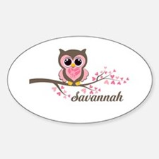 Custom Valentines Day owl Decal