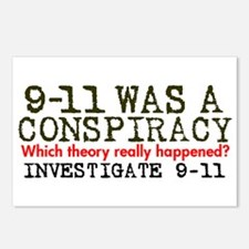 9-11 Was a Conspiracy! Postcards (Package of 8)