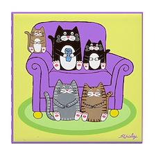 Cute Susan wrisley Tile Coaster