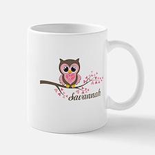 Custom Valentines Day owl Mug