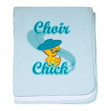 Choir Chick #3 baby blanket