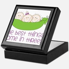 Come In Threes Keepsake Box