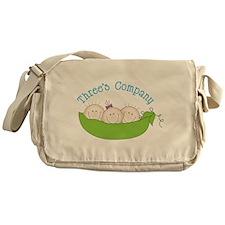 Threes Company Messenger Bag
