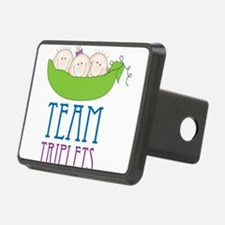Team Triplets Hitch Cover