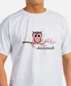 Custom Valentines Day owl T-Shirt