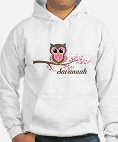 Custom Valentines Day owl Jumper Hoody