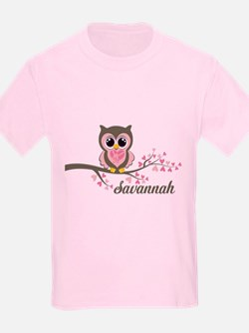 Custom Valentines Day owl T-Shirt