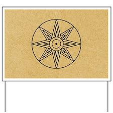 Inanna Star Yard Sign
