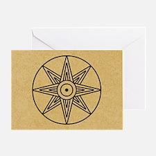 Inanna Star Greeting Card