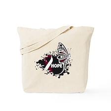 Hope Throat Cancer Tote Bag