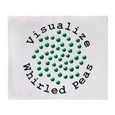 Visualize Whirled Peas 2 Throw Blanket