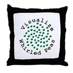 Visualize Whirled Peas 2 Throw Pillow