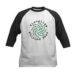 Visualize Whirled Peas 2 Kids Baseball Jersey