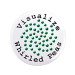 "Visualize Whirled Peas 2 3.5"" Button (100 pack)"
