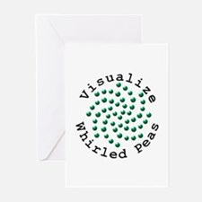 Visualize Whirled Peas 2 Greeting Cards (Pk of 10)