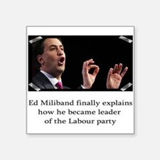 Ed miliband explains how he became leader Square S