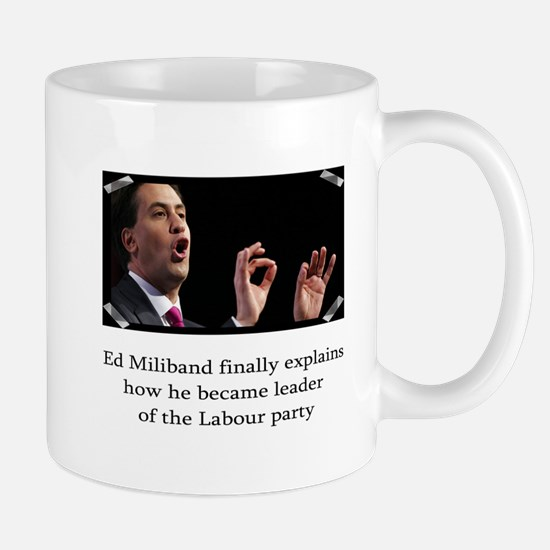 Ed miliband explains how he became leader Mug