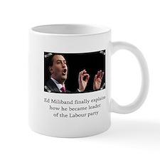 Ed miliband explains how he became leader Small Small Mug
