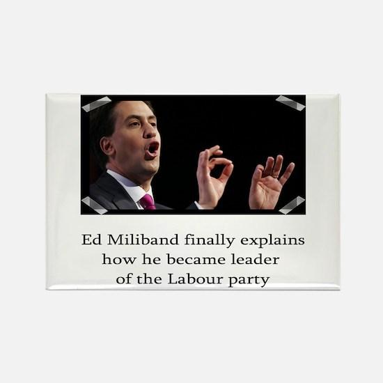 Ed miliband explains how he became leader Rectangl