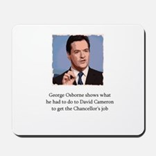 George Osborne on how he became Chancellor Mousepa