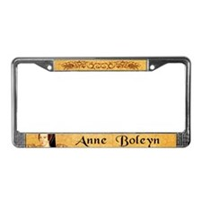 Anne Boleyn License Plate Frame