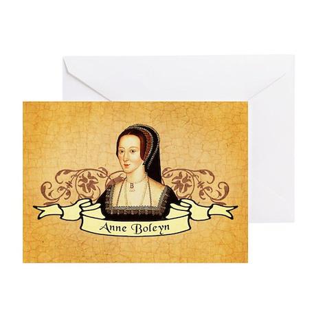 Anne Boleyn Greeting Cards (Pk of 10)
