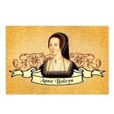 Anne Boleyn Postcards (Package of 8)