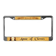 Anne Of Cleves License Plate Frame