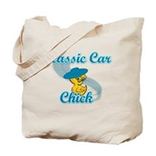 Classic Car Chick #3 Tote Bag