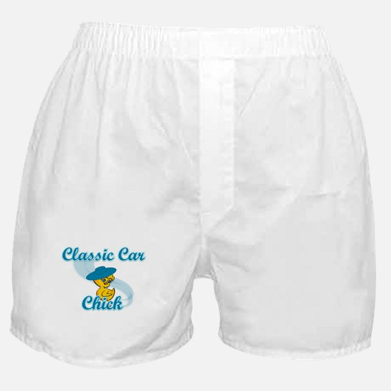 Classic Car Chick #3 Boxer Shorts