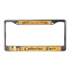 Catherine Parr License Plate Frame