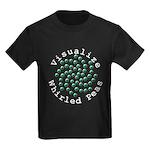Visualize Whirled Peas 2 Kids Dark T-Shirt