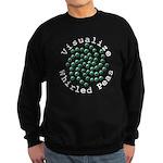 Visualize Whirled Peas 2 Sweatshirt (dark)