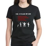 Four Stages of Life Women's Dark T-Shirt