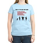 Four Stages of Life Women's Light T-Shirt