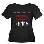 Four Stages of Life Women's Plus Size Scoop Neck D
