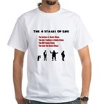 Four Stages of Life White T-Shirt